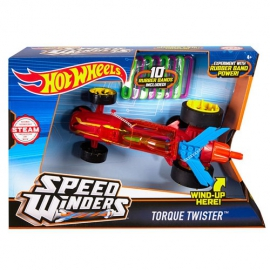 Hot Wheels Speed Winders - Torque Twister autó - piros