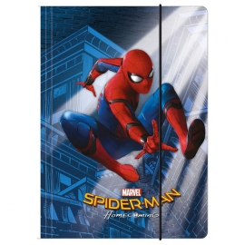 Spiderman gumis mappa A4