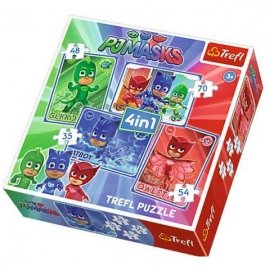 PJ Masks puzzle 4 in 1