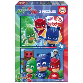 PJ Masks puzzle 2 x 20 db - Educa