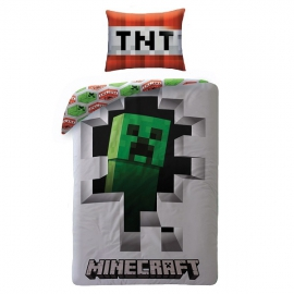 Minecraft ágynemű Creeper