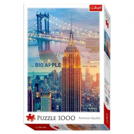 New York City hajnalban 1000 db-os puzzle - Trefl