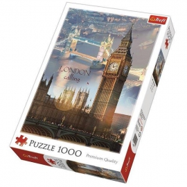 London hajnalban 1000 db - os puzzle -Trefl