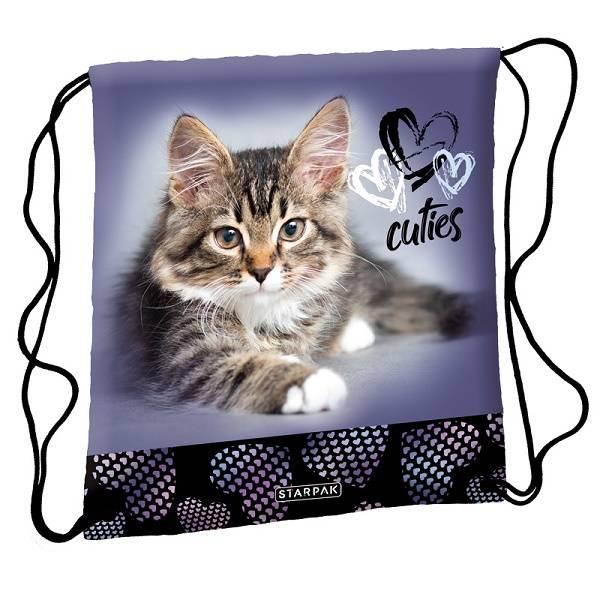 5f854c79f6fe Starpak cicás tornazsák Cuties Kitty - Gigajáték