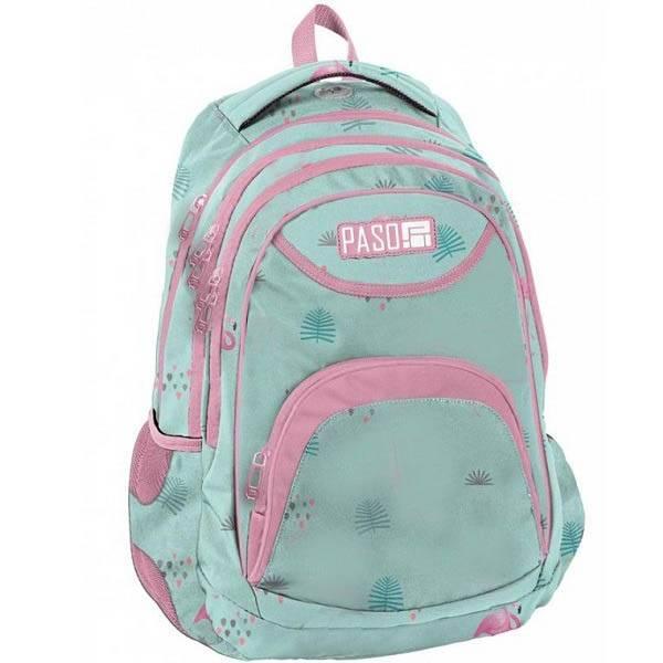 97c5c0a9424d Paso iskolatáska hátizsák - Flamingó - Gigajáték