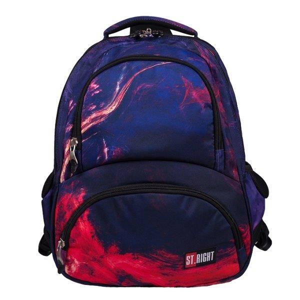 11b8cb1e3b1b St. Right Flames ergonomikus iskolatáska, hátizsák hőtárolós rekesszel