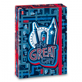 Ars Una Great City füzetbox - A5