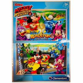 Mickey 2 x 20 db-os puzzle - Clementoni