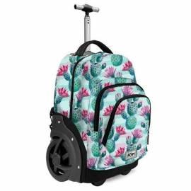 115e39962f64 Kaktuszos gurulós iskolatáska, hátizsák - Oh my Pop!