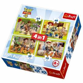 Toy Story 4 puzzle 4in1 - A csapat