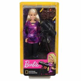 Barbie baba National Geographic - asztrofizikus