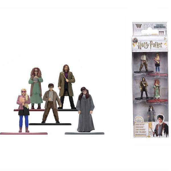Harry Potter Metal Nano figura szett