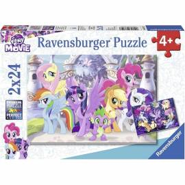 My little pony puzzle 2x24 db-os