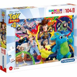 Toy Story 4 maxi puzzle 104 db-os Supercolor