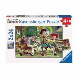 Toy Story puzzle 2x24 db - Ravensburger