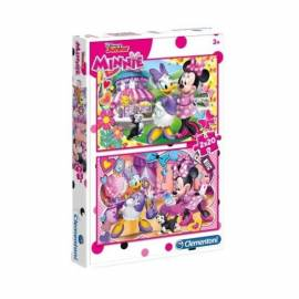 Minnie puzzle 2x20 db-os - Minnie Mouse