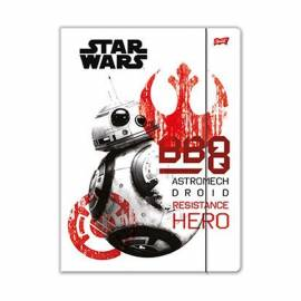 Star Wars gumis mappa A4 - Hero