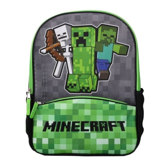 Minecraft hátizsák - Creeper Kids