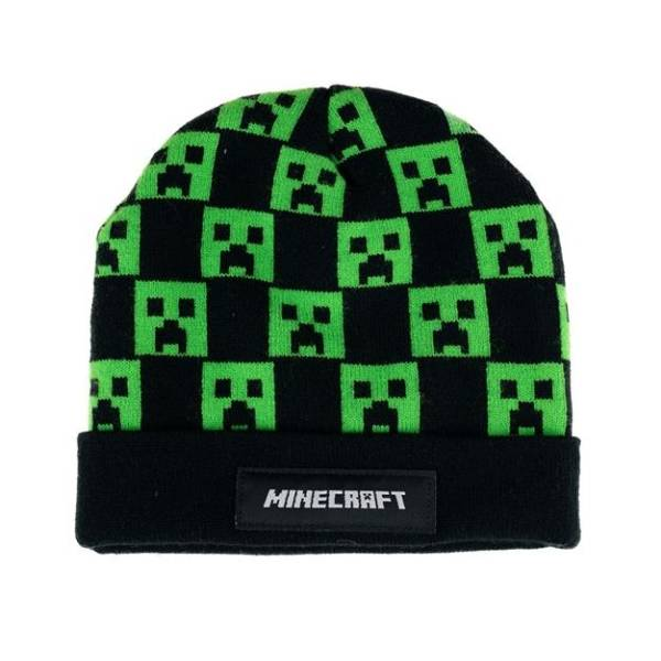 Minecraft sapka - Creeper