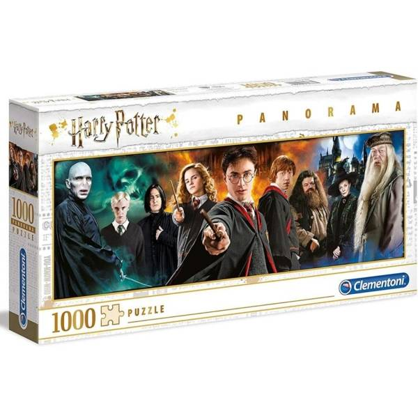 Harry Potter panoráma puzzle 1000 db-os