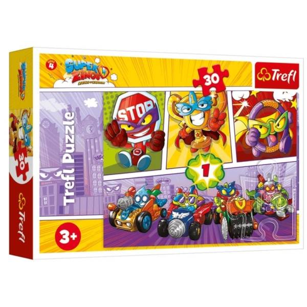 Trefl puzzle 30 db-os - Super Zings