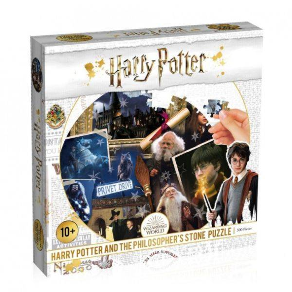 Harry Potter 500 db-os puzzle filozófus kő