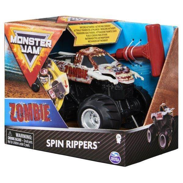 Monster Jam Spin Rippers kisautó - Zombie