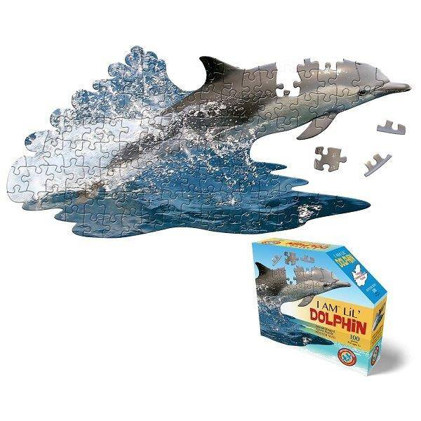 WOW Puzzle Junior 100 db-os – Delfin
