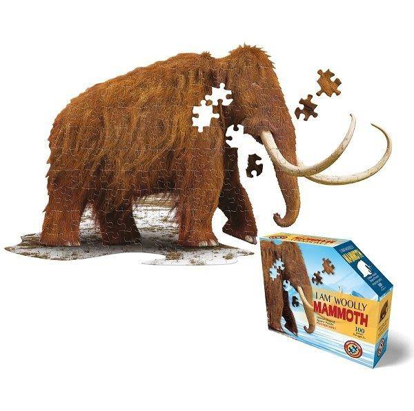 WOW Puzzle Junior 100 db-os – Gyapjas mamut